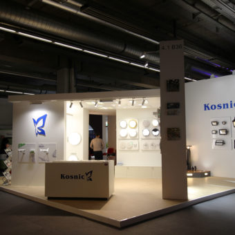 Kosnic at Light + Building 2018!