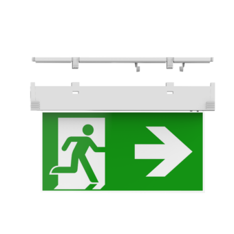 Doxa – Edge-lit exit sign