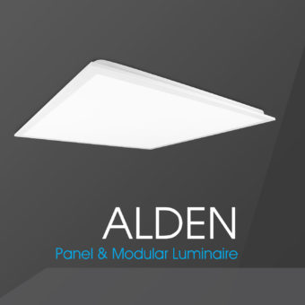 Introducing Alden: the backlit LED panel
